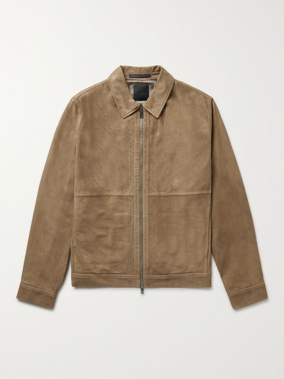 THEORY Dustin Reece Nubuck Jacket