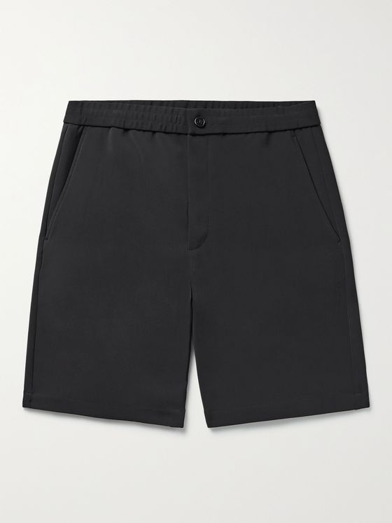 THEORY Norton Tech-Jersey Shorts