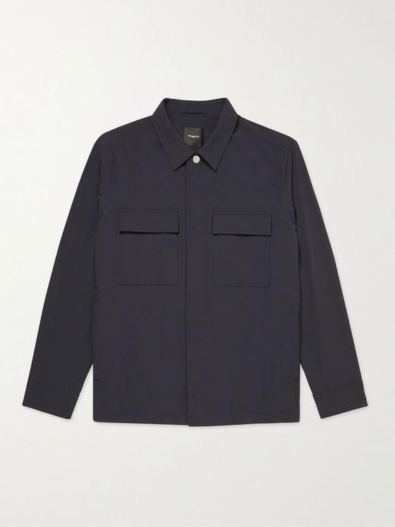 THEORY Jared Precision Stretch-Nylon Jacket