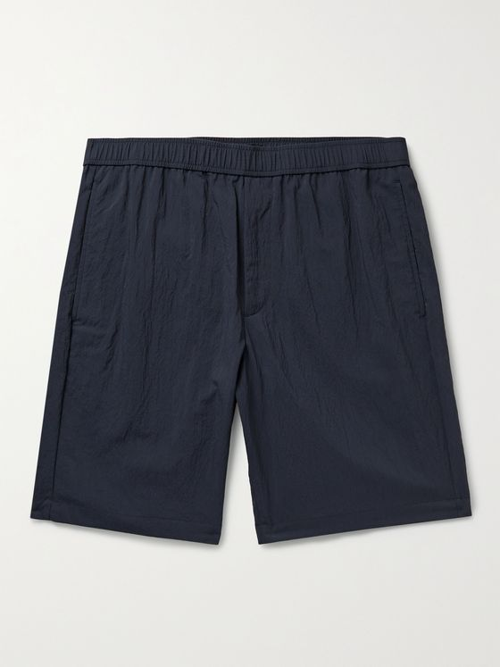 THEORY Curtis Crinkled Nylon-Blend Shorts