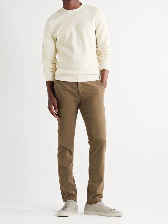 RAG & BONE Cotton and Hemp-Blend Piqué Sweater