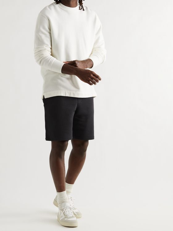RAG & BONE Driscoll Loopback Organic Cotton-Jersey Shorts