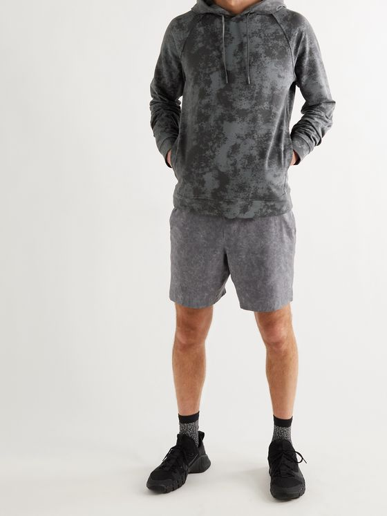 LULULEMON City Sweat Tie-Dyed Stretch-Jersey Hoodie