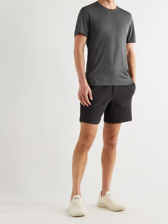 LULULEMON Fast and Free Mélange Stretch-Jersey Running T-Shirt
