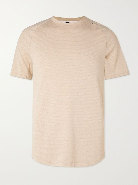 LULULEMON Drysense Mélange Recycled Stretch-Jersey T-Shirt