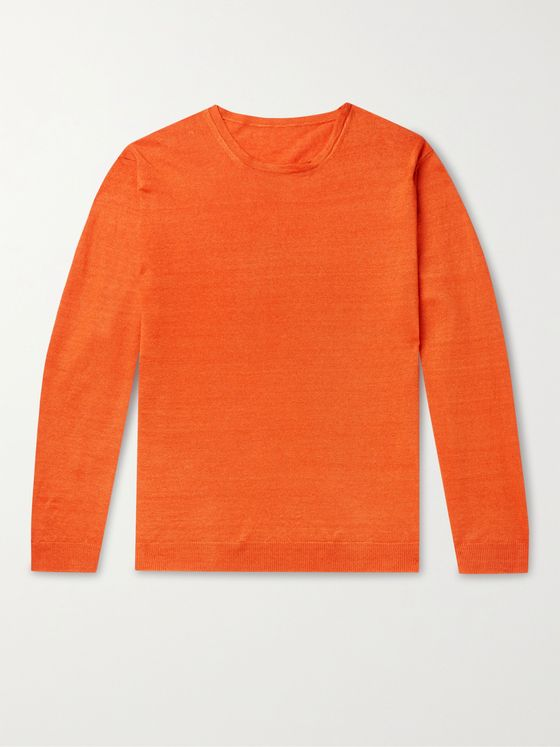 ANDERSON & SHEPPARD Linen Sweater