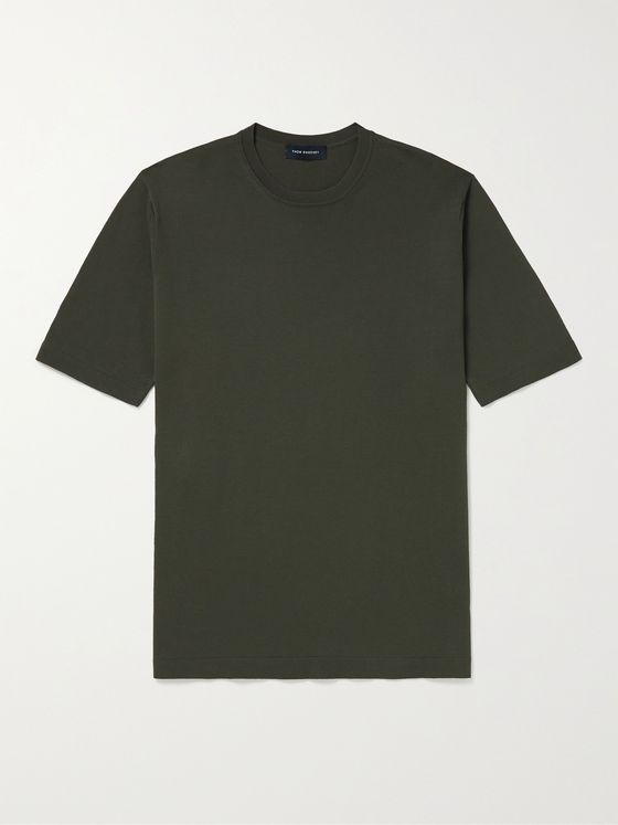 THOM SWEENEY Cotton T-Shirt