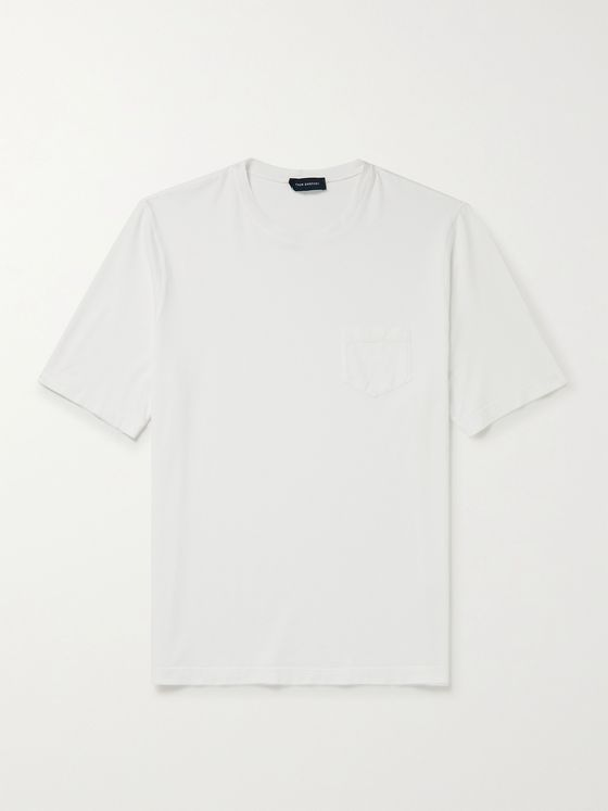 THOM SWEENEY Cotton-Jersey T-Shirt