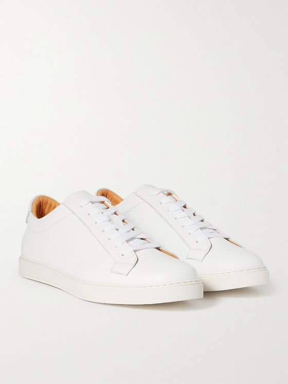 THOM SWEENEY Full-Grain Leather Sneakers