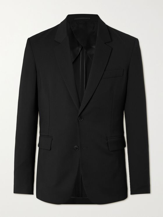 THE ROW Slater Slim-Fit Unstructured Wool Suit Jacket