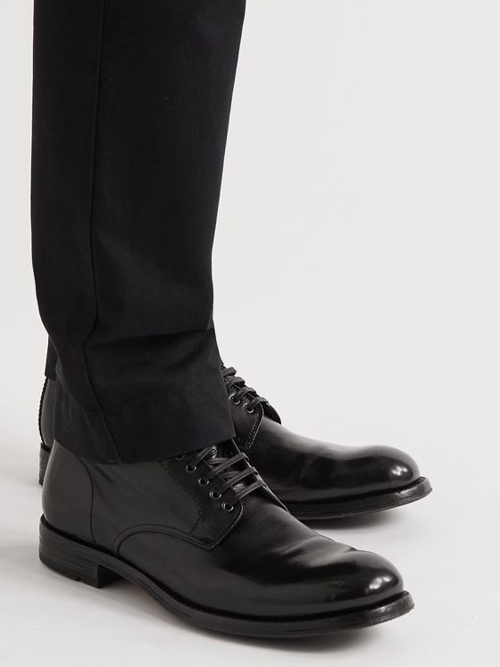 OFFICINE CREATIVE Balance Polished-Leather Boots