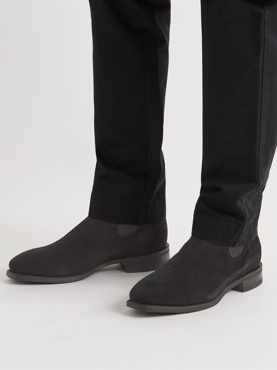 OFFICINE CREATIVE Providence Suede Chelsea Boots