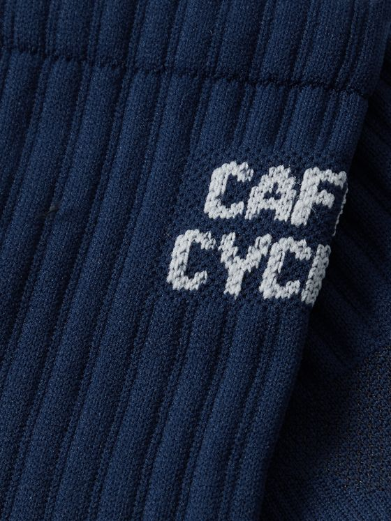 CAFE DU CYCLISTE Logo-Jacquard Cycling Socks