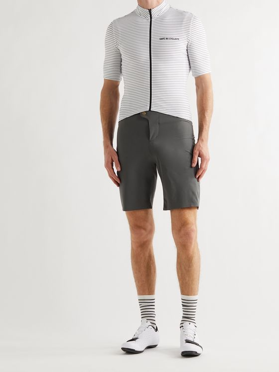 CAFE DU CYCLISTE Renée Slim-Fit Shell Cycling Shorts