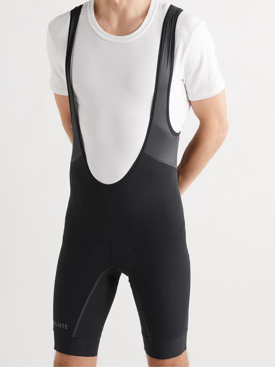 CAFE DU CYCLISTE Marinette Stretch-Jersey Cycling Bib Shorts