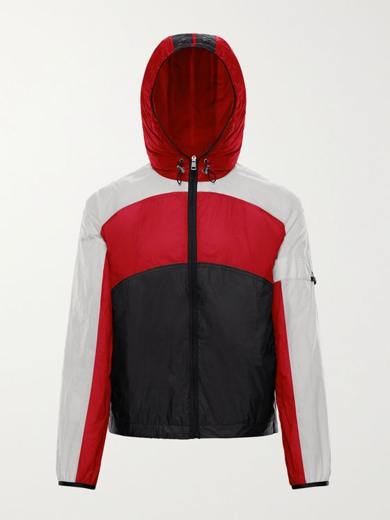MONCLER GENIUS 5 Moncler Craig Green Clonophis Colour-Block Nylon-Ripstop Hooded Jacket