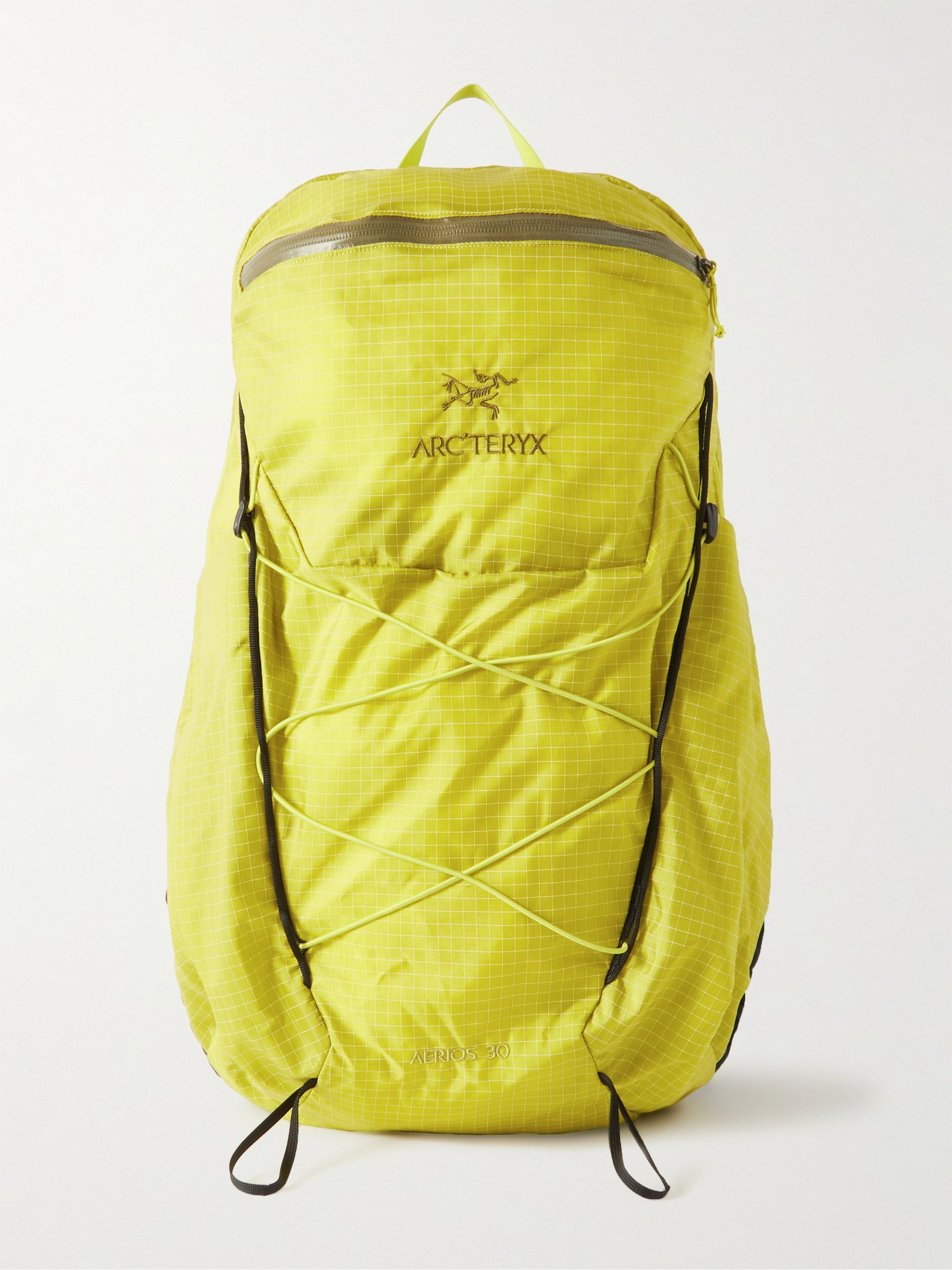 아크테릭스 로고 백팩 ArcTeryx Aerios 30 Nylon-Ripstop Backpack,Sage green