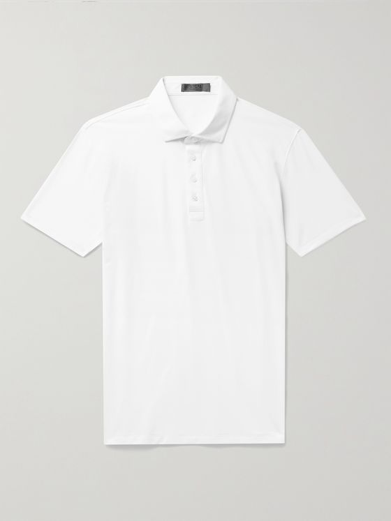 G/FORE Essential Stretch-Piqué Golf Polo Shirt