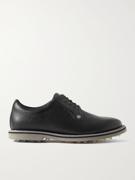 G/FORE Gallivanter Pebble-Grain Leather Golf Shoes