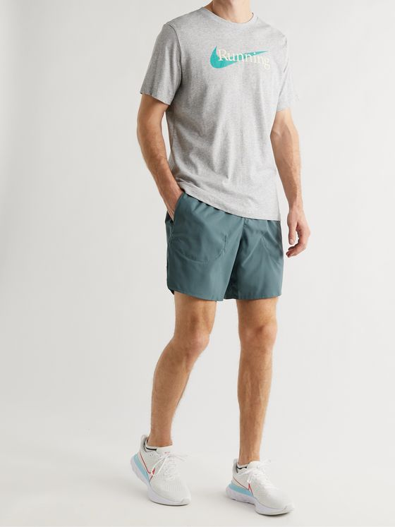 NIKE RUNNING Flex Stride Dri-FIT Stretch-Shell Shorts