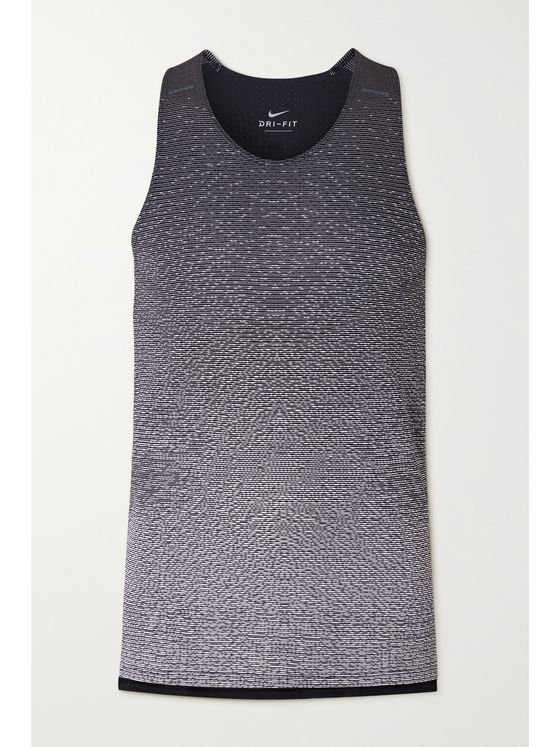 NIKE RUNNING Run Division Pinnacle Panelled Dri-FIT Tank Top