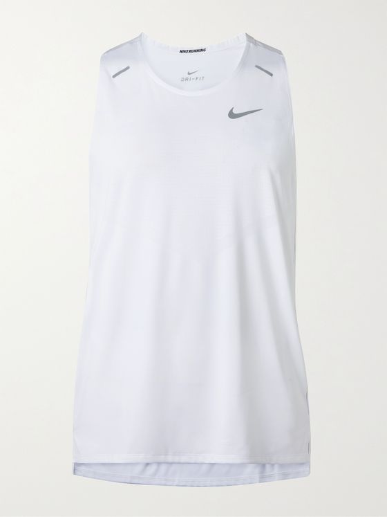 NIKE RUNNING Rise 365 Perforated Recycled Dri-FIT Tank Top