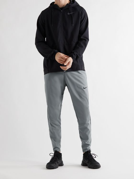 NIKE TRAINING Flex Tapered Stretch-Jersey Sweatpants