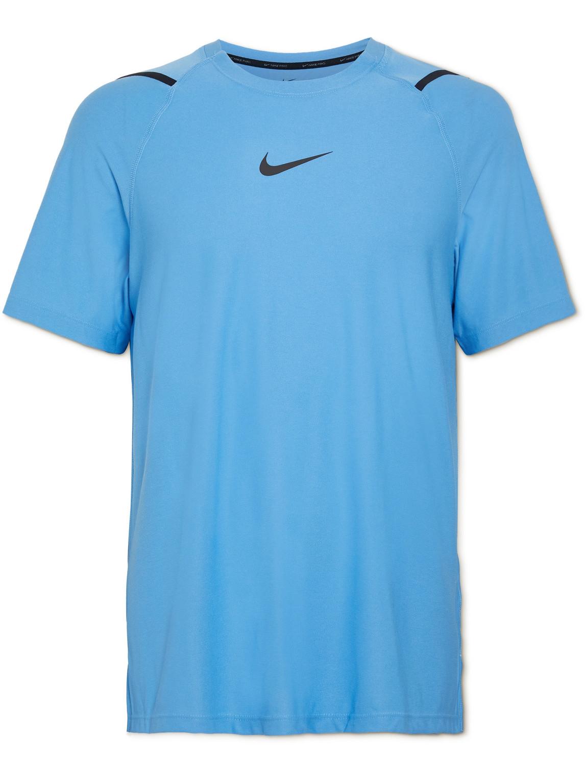 Nike Training - Pro Dri-Fit T-Shirt - Men - Blue - S