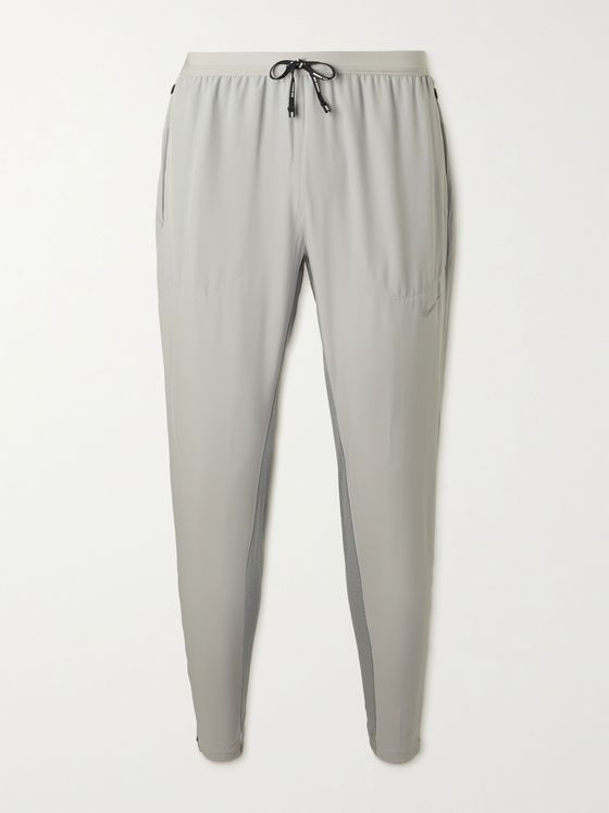 NIKE RUNNING Phenom Elite Tapered Mesh-Panelled Dri-FIT Running Sweatpants