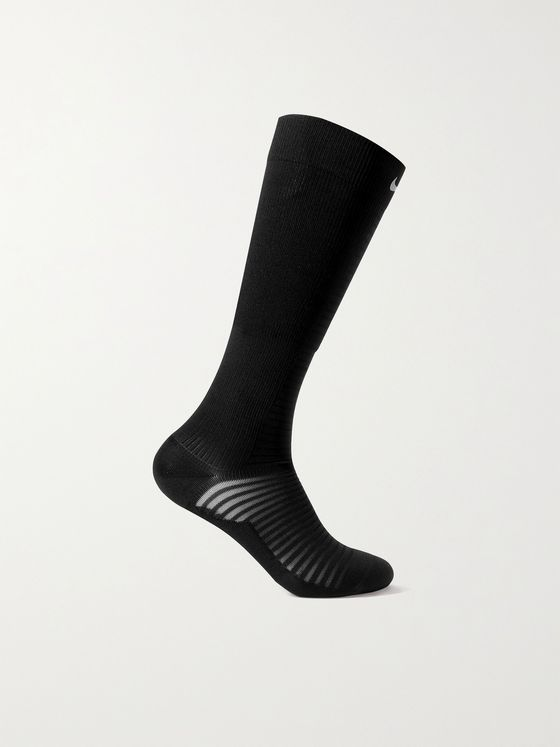 NIKE RUNNING Spark Lightweight Stretch-Knit Running Socks