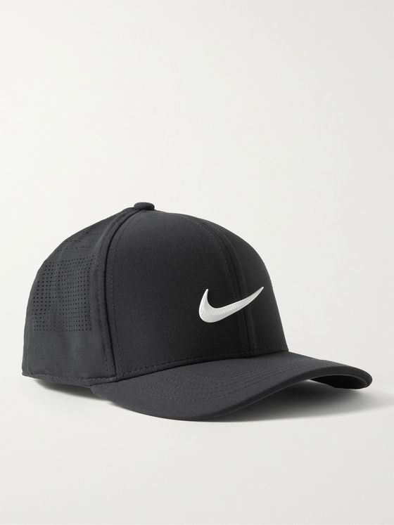 NIKE GOLF AeroBill Classic99 Perforated Stretch-Twill Golf Cap