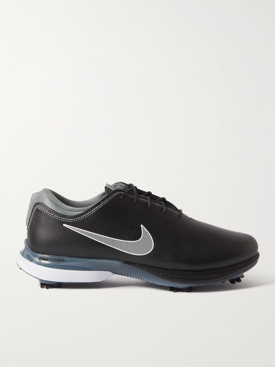 NIKE GOLF Air Zoom Victory Tour 2 Full-Grain Leather Golf Shoes