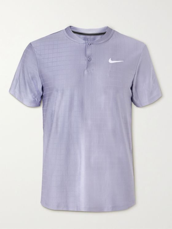NIKE TENNIS NikeCourt Advantage Slim-Fit Recycled Dri-FIT Tennis T-Shirt