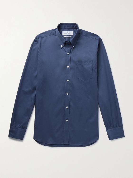 TURNBULL & ASSER Button-Down Collar Cotton Shirt
