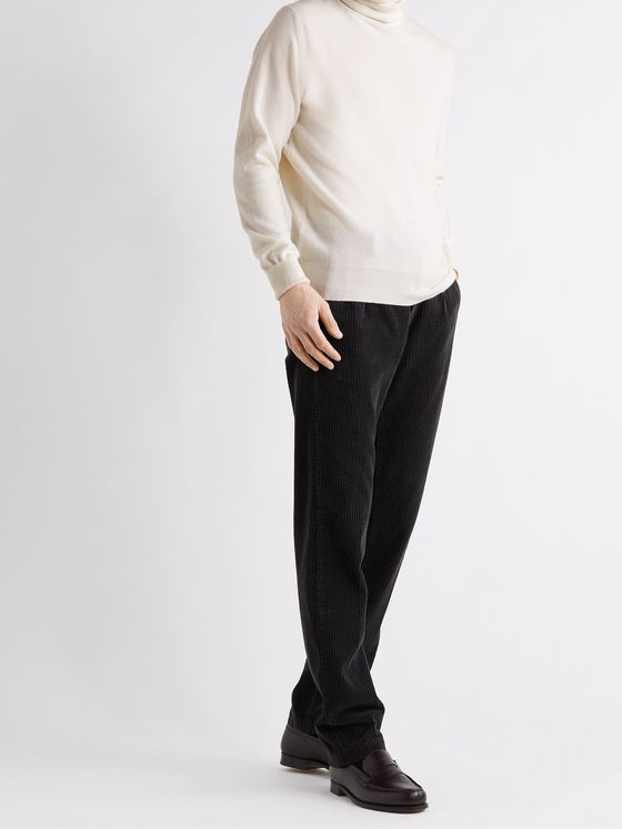 WILLIAM LOCKIE Oxton Cashmere Rollneck Sweater