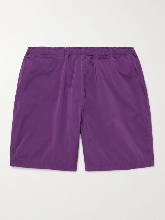 REMI RELIEF + BRIEFING Shell Drawstring Shorts