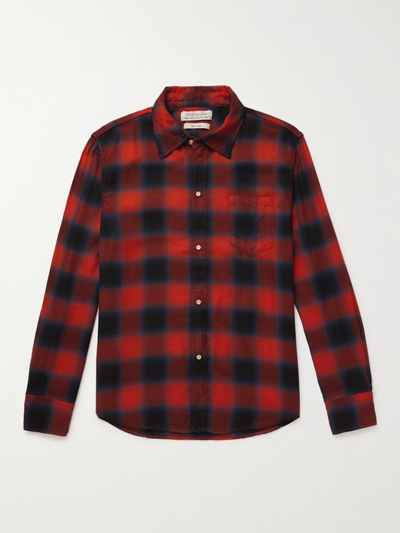 REMI RELIEF Checked Woven Shirt