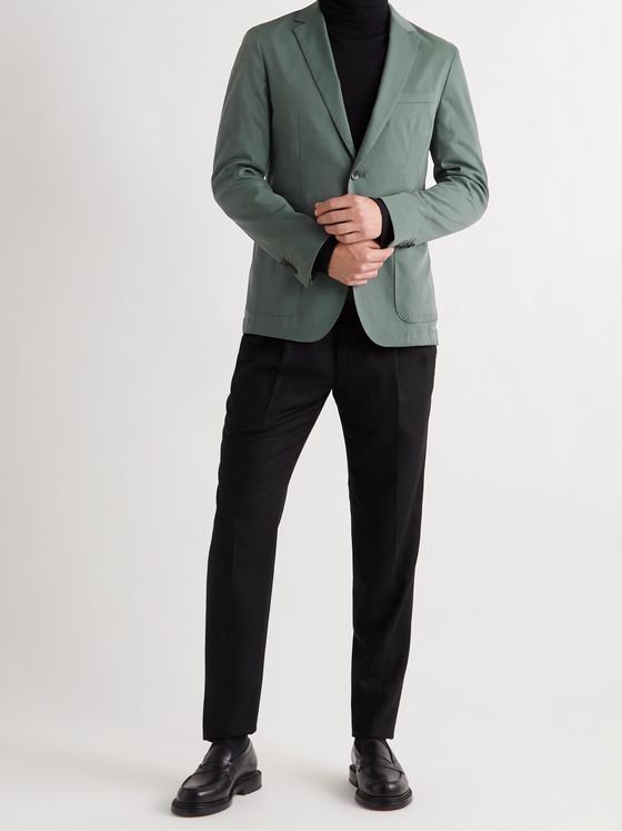 HUGO BOSS Slim-Fit Unstructured Twill Suit Jacket