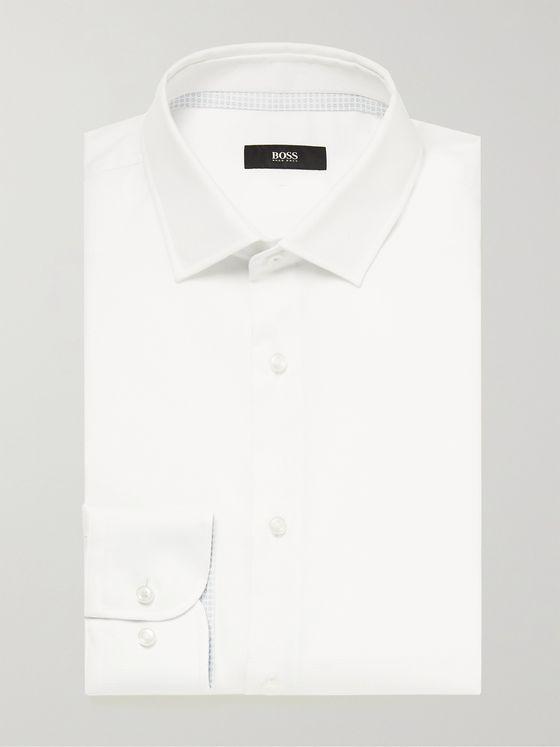 HUGO BOSS Jesse Slim-Fit Cotton Shirt