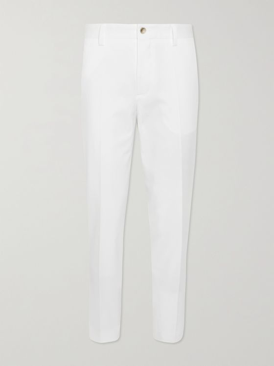 HUGO BOSS Perin3 Stretch Lyocell and Cotton-Blend Twill Trousers