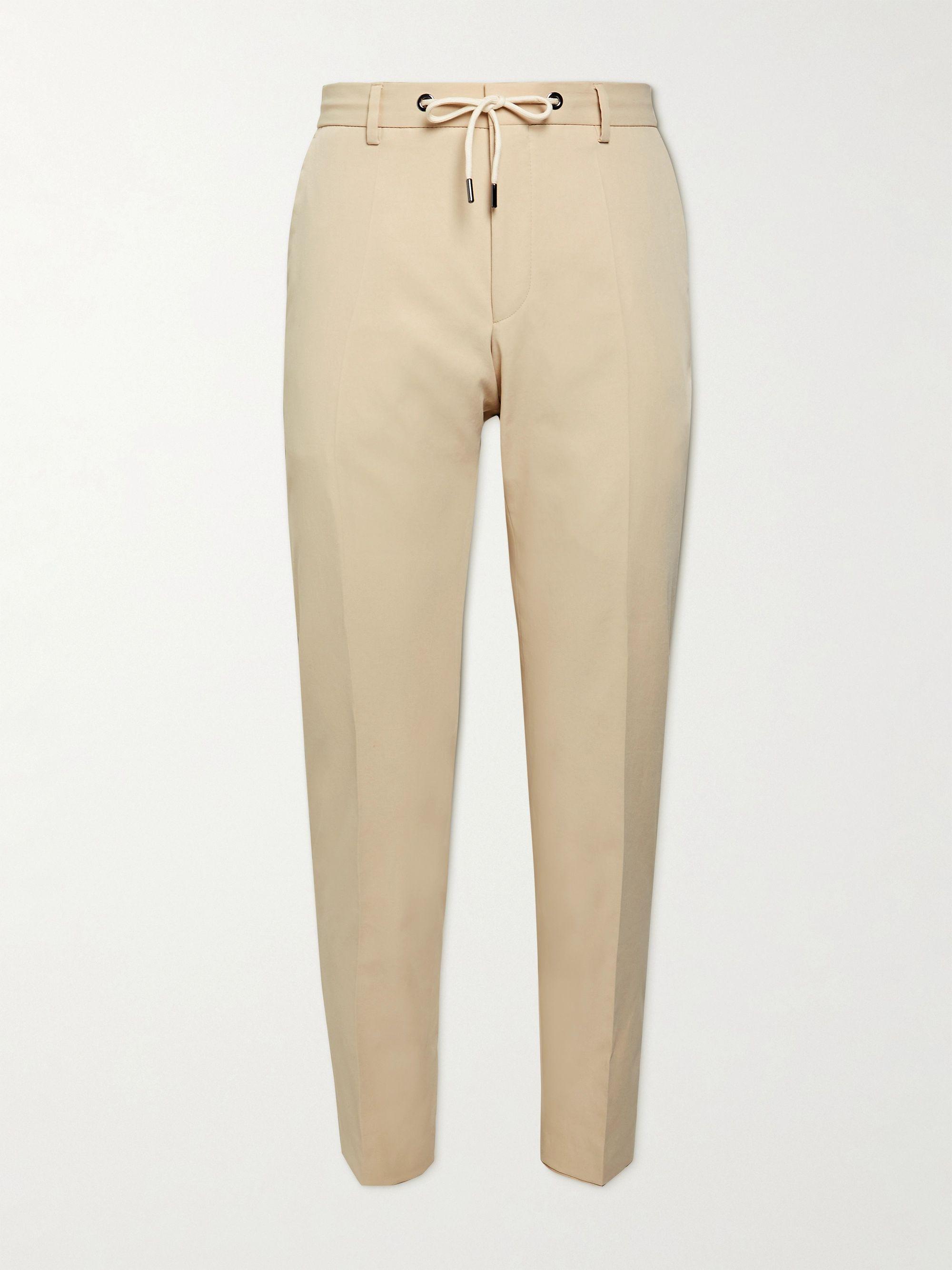 HUGO BOSS Bardon Slim-Fit Twill Drawstring Suit Trousers