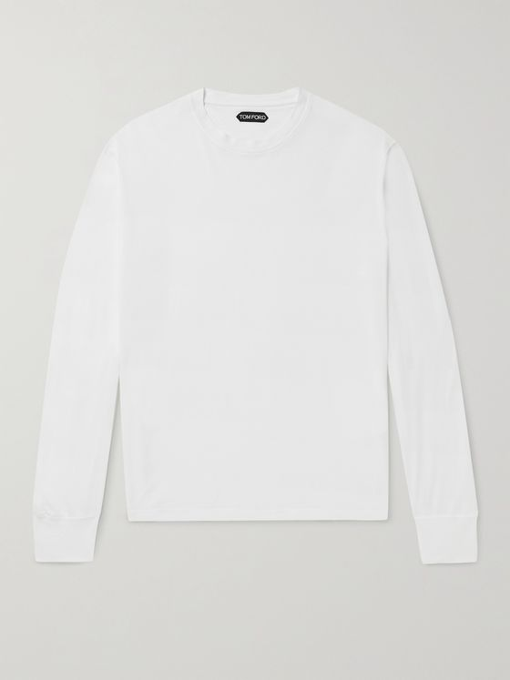 TOM FORD Lyocell and Cotton-Blend T-Shirt