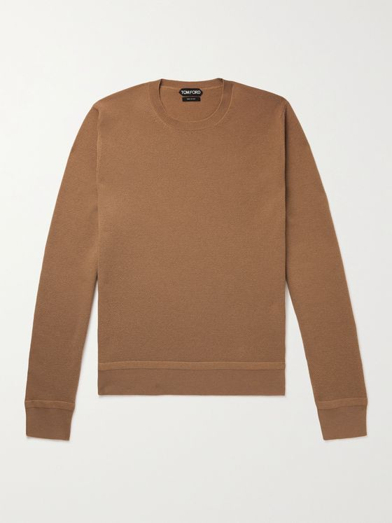 TOM FORD Cashmere and Wool-Blend Sweater