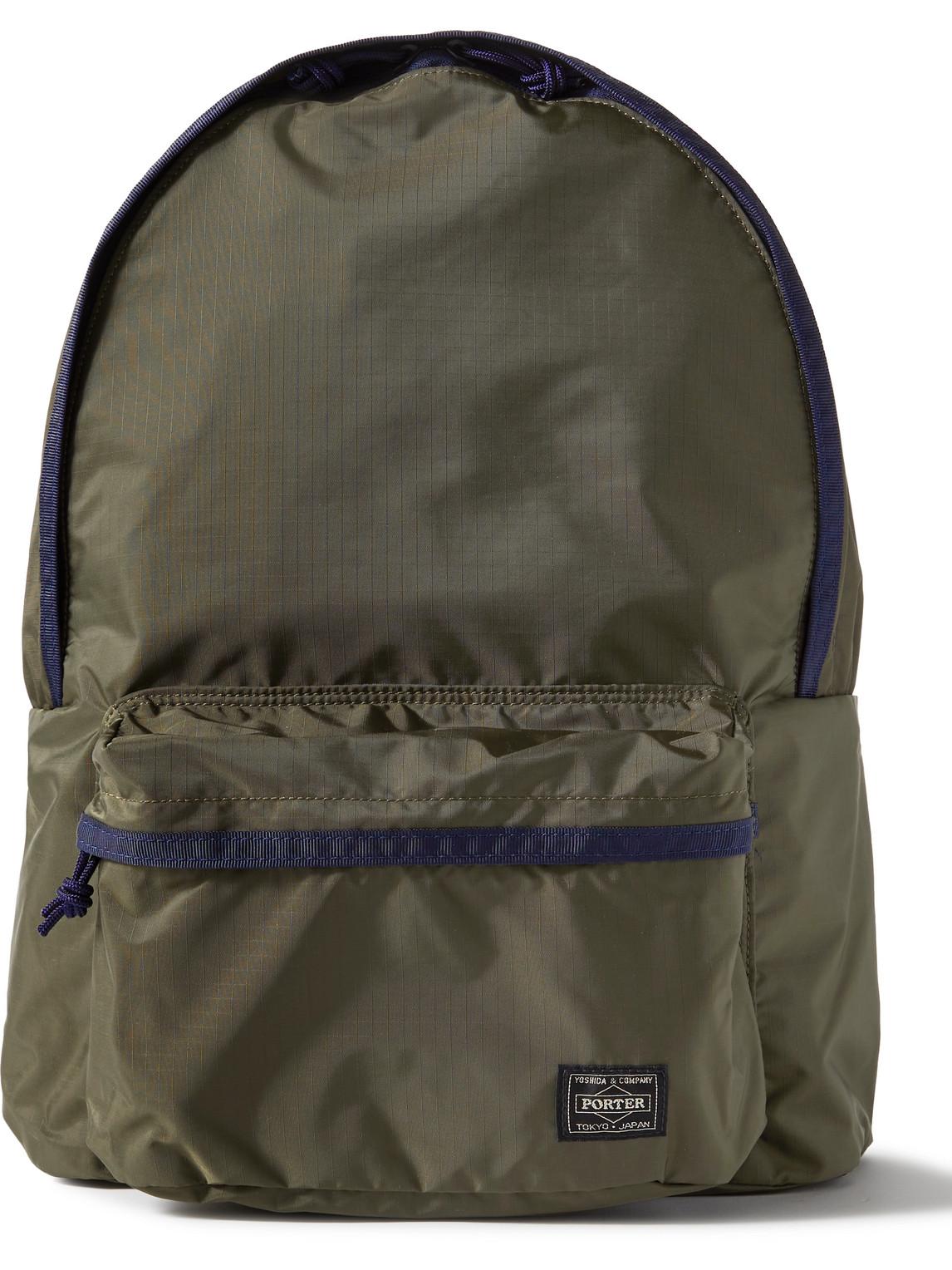 Porter, Yoshida & Co Jungle Nylon-ripstop Backpack In Green