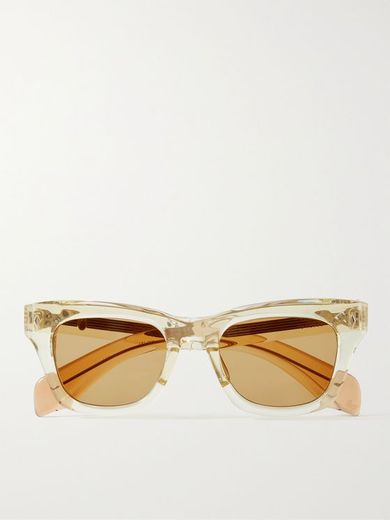 JACQUES MARIE MAGE Dealan D-Frame Acetate Sunglasses