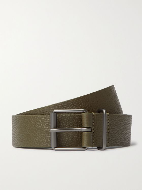 ANDERSON'S 3cm Full-Grain Leather Belt