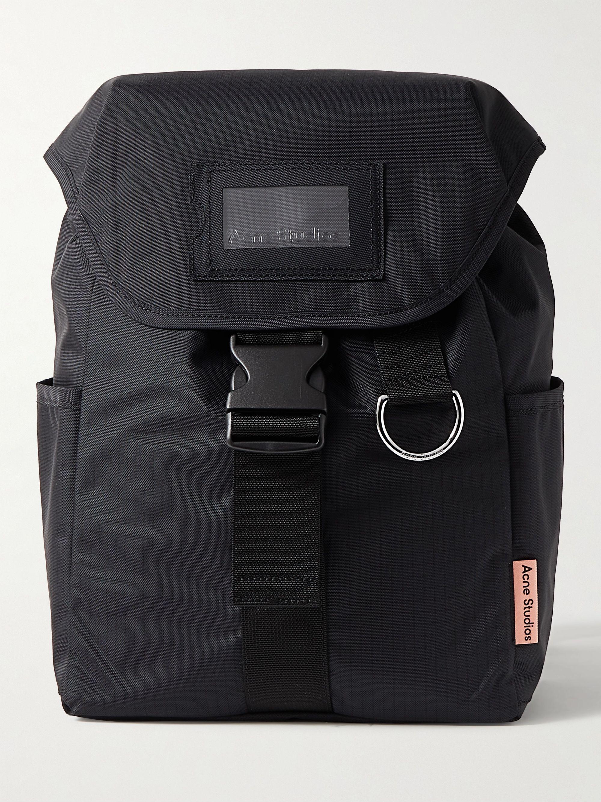 아크네 스튜디오 백팩 Acne Studios Nylon-Ripstop Backpack,Black