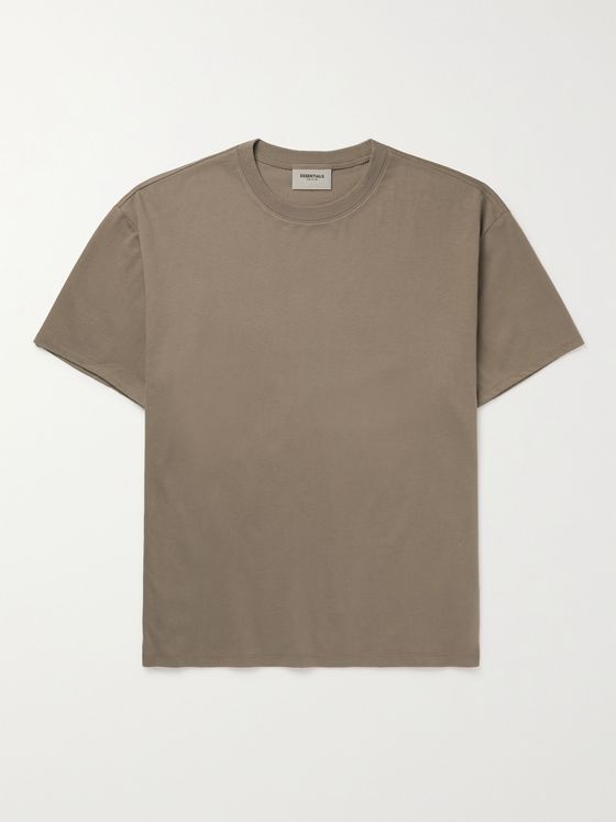 FEAR OF GOD ESSENTIALS Logo-Detailed Cotton-Jersey T-Shirt
