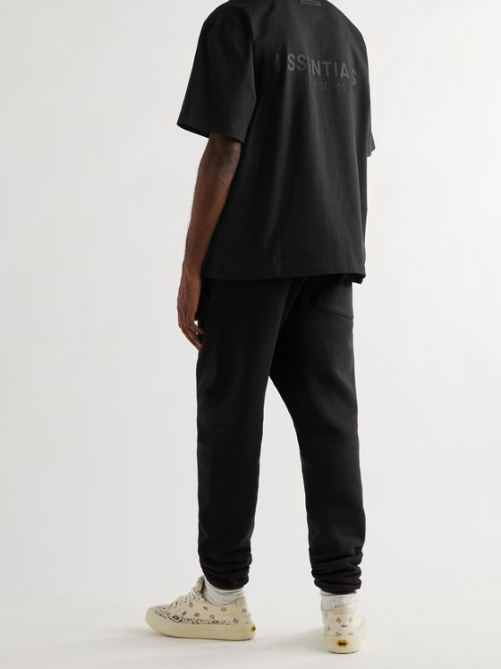 FEAR OF GOD ESSENTIALS Logo-Detailed Cotton-Jersey Polo Shirt