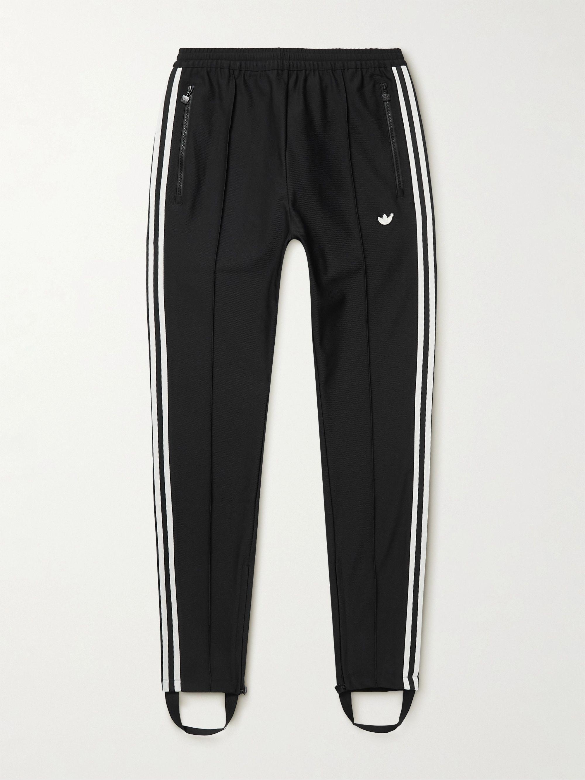 Tapered Logo-Appliquéd Tech-Jersey Sweatpants